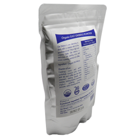 organic oat embroy powder