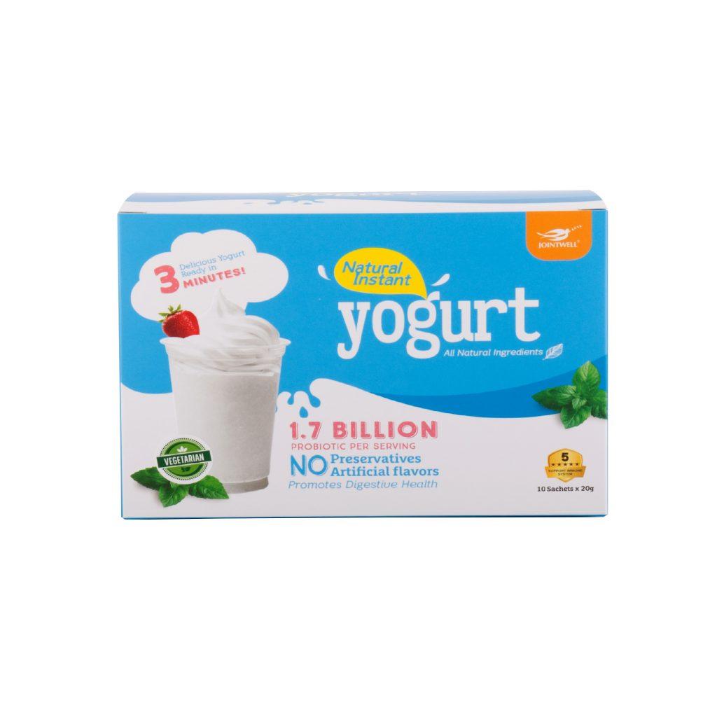 natural instant yogurt jointwell marketing. Black Bedroom Furniture Sets. Home Design Ideas
